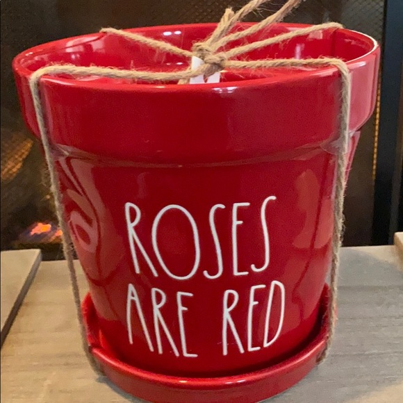 Rae Dunn flower pot